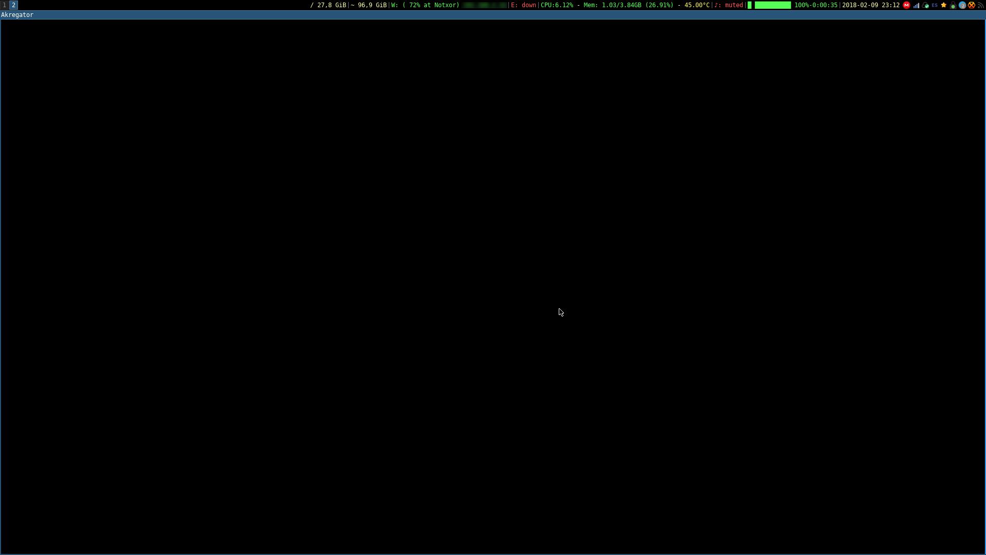Utilizando elfeed-mode de emacs  - Notxor tiene un blog